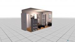 Raumgestaltung Spare bedroom in der Kategorie Schlafzimmer