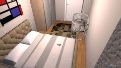 Raumgestaltung spavaca soba in der Kategorie Schlafzimmer