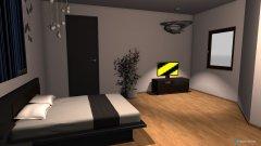 Raumgestaltung spavaca in der Kategorie Schlafzimmer