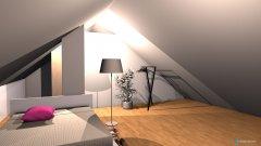 Raumgestaltung Speicher in der Kategorie Schlafzimmer