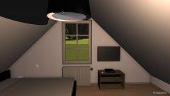 Raumgestaltung Spitzboden in der Kategorie Schlafzimmer