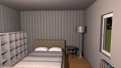 Raumgestaltung stefanies zimmer in der Kategorie Schlafzimmer