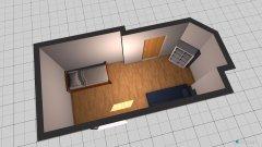 Raumgestaltung StefansZimmer in der Kategorie Schlafzimmer