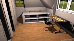 Raumgestaltung Steffen's Zimmer in der Kategorie Schlafzimmer