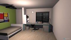 Raumgestaltung student room in der Kategorie Schlafzimmer