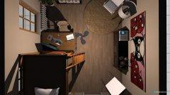 Raumgestaltung Studentenbude in der Kategorie Schlafzimmer