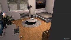 Raumgestaltung Studentenwohnung in der Kategorie Schlafzimmer
