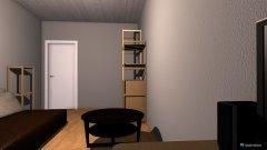 Raumgestaltung Studentenzimmer in der Kategorie Schlafzimmer