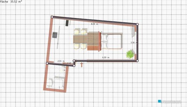 Raumgestaltung Studio in der Kategorie Schlafzimmer