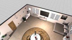 Raumgestaltung Styl Skandynawski pokój in der Kategorie Schlafzimmer