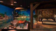Raumgestaltung Suite Caribbean Dreams  in der Kategorie Schlafzimmer