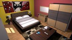 Raumgestaltung Sweet bedroom in der Kategorie Schlafzimmer