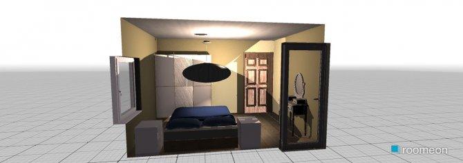 Raumgestaltung sypialnia 1 in der Kategorie Schlafzimmer