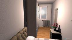 Raumgestaltung SYPIALNIA 2 in der Kategorie Schlafzimmer