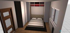 Raumgestaltung sypialnia 4 in der Kategorie Schlafzimmer
