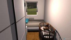 Raumgestaltung Sypialnia Ewy2 in der Kategorie Schlafzimmer