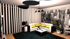 Raumgestaltung sypialnia gosia in der Kategorie Schlafzimmer