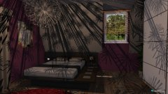 Raumgestaltung Sypialnia mamy in der Kategorie Schlafzimmer