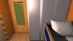 Raumgestaltung sypialnia in der Kategorie Schlafzimmer