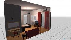 Raumgestaltung SZ-WZ_VR-Supetar in der Kategorie Schlafzimmer