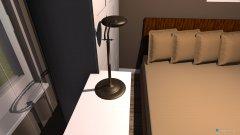 Raumgestaltung szoba3 háló barna fal in der Kategorie Schlafzimmer