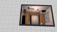 Raumgestaltung Tat Zimmer in der Kategorie Schlafzimmer