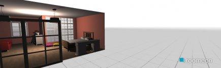 Raumgestaltung Teenage Bedroom in der Kategorie Schlafzimmer