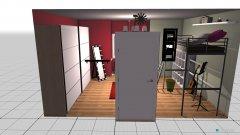 Raumgestaltung Teenager Schlafzimmer in der Kategorie Schlafzimmer
