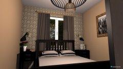 Raumgestaltung tereskowa sypialnia in der Kategorie Schlafzimmer