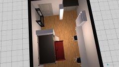 Raumgestaltung Thilonaut und Miezi in der Kategorie Schlafzimmer