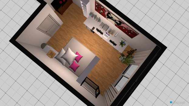 Raumgestaltung Thilonautenhaus Spacial in der Kategorie Schlafzimmer
