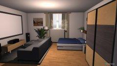Raumgestaltung thore zimmer in der Kategorie Schlafzimmer