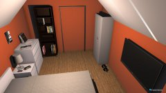 Raumgestaltung Timo Schlafzimmer in der Kategorie Schlafzimmer