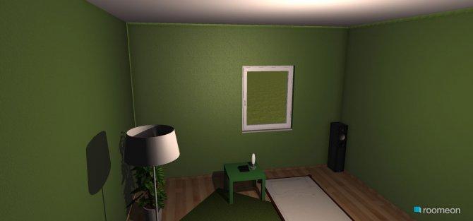 Raumgestaltung Timos zimmer in der Kategorie Schlafzimmer