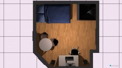 Raumgestaltung Transvaalstraat in der Kategorie Schlafzimmer