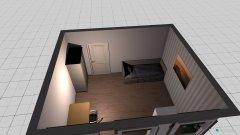 Raumgestaltung UG Schlafzimmer in der Kategorie Schlafzimmer