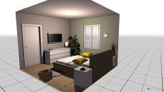 Raumgestaltung Unser Kuschelzimmer  in der Kategorie Schlafzimmer