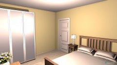 Raumgestaltung V Bažantnici ložnice in der Kategorie Schlafzimmer