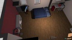 Raumgestaltung Vanni Zimmer in der Kategorie Schlafzimmer