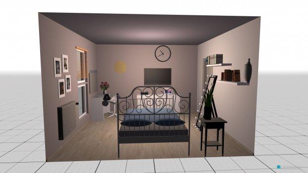 Raumgestaltung Variante 4 in der Kategorie Schlafzimmer