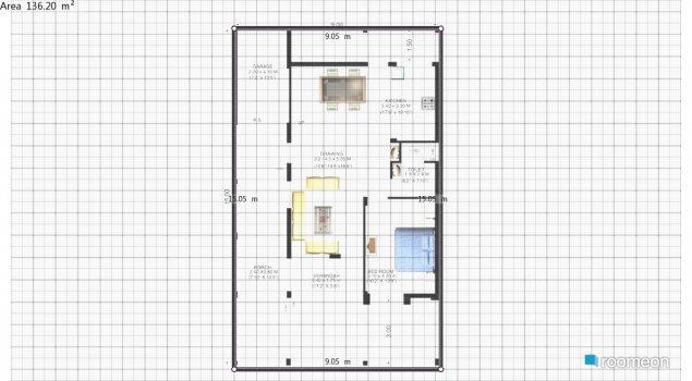 Raumgestaltung vedwati in der Kategorie Schlafzimmer