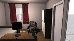 Raumgestaltung vers 2 in der Kategorie Schlafzimmer