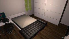 Raumgestaltung Vitos und Claras Zimmer in der Kategorie Schlafzimmer