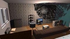 Raumgestaltung Vivi Wohnschlafzimmer in der Kategorie Schlafzimmer