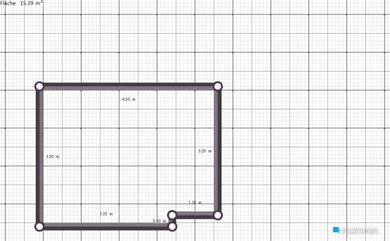 Raumgestaltung Vorlage 1 in der Kategorie Schlafzimmer