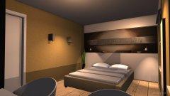 Raumgestaltung W1KöwiSchlafenunten in der Kategorie Schlafzimmer