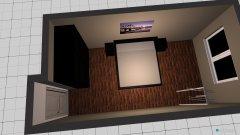 Raumgestaltung WedelSchlafzimmer in der Kategorie Schlafzimmer