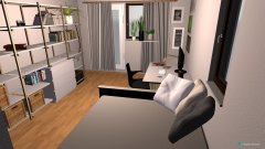 Raumgestaltung WG Birkach in der Kategorie Schlafzimmer