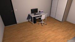 Raumgestaltung WG my room in der Kategorie Schlafzimmer