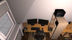 Raumgestaltung WG small in der Kategorie Schlafzimmer